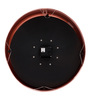 @ Home Pink Metal 15.7 x 2.8 x 15.7 Inch Classic Round Wall Clock