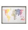 @ Home By Nilkamal Multicolor Canvas 27.56 x 1.38 x 19.69 Inch Framed Painting