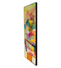 999Store Fibre 70 x 0.8 x 30 Inch Abstract Design Framed Art Panels - Set of 6