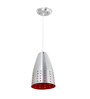 Manuel Ceiling Lamp in Red by CasaCraft