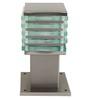Aesthetics Home Solution Square White Glass Gates Light