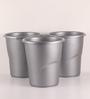 All Time Silver 5.5 L Frosty Dust Bin - Set of 3