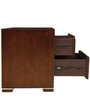 Amelia Solidwood Night Stand in Brown Colour by HomeTown