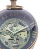 Anantaran Retro Paper Weight Brass Table Clock