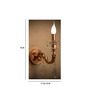 Anemos Copper Metal & Glass Wall Light