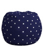 Anywhere Kids Bean Bag Cover Only in Starry Blue by My Gift Booth