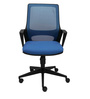 Apple Ergonomic Chair in Blue Colour by Starshine