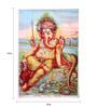 Original Oleograph - Ravi Varma Press(1892-1972) -Shri Mangalmurti - 10 X 14 Inch on Paper