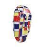 Art Tantra Multicolour Resin with Acrylic Paint Mondrian Mask
