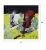 Art Zolo Canvas 40 x 40 Inch Samvad Unframed Artwork Painting