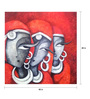 Art Zolo Canvas 48 x 48 Inch Mesmerizers 2012 Unframed Artwork Painting