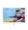 Art Zolo Paper 22 x 15 Inch The Beach Unframed Artwork Painting