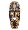 Artelier Multicolour Wooden Carved Mask