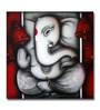 Artflute Canvas Eternal Ganesha Framed Art Print