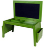 Aspire Study Table in Green color by SIWA STYLE