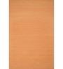 Asterlane Red & Orange Woolen 96 x 60 Inch Abstract Rectangular Area Rug