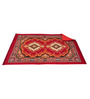 Aaron Carpet in Red by CasaCraft