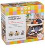 Baby Booster Seat in Cream Finish by Mee Mee
