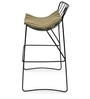 Barney Bar Chair in Black Colour by @home