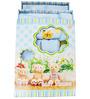Belle Maison Blue 9-piece Baby Bath Robe Set - Small