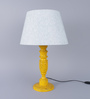 Bernal Table Lamp in Blue by Amberville