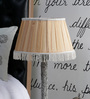 Beverly Studio Brown Poly Cotton Lamp Shade