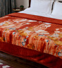 Bombay Dyeing Browns Polyester Queen Size Blanket 1 Pc