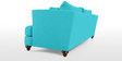Chasin Three Seater Sofa in Aqua Blue Colour by Furny
