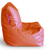 Chair Bean Bag (Cover Only) L size in Orange Colour by Style Homez