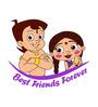 Chipakk Chhota Bheem and Chutki Friends Door Decal