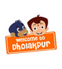 Chipakk Chhota Bheem and Jaggu Welcome Door Decal