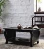 Baynard Coffee & Centre Table in Espresso Walnut Finish by Amberville