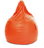 Classic Bean Bag XXXL size in Orange Colour with Beans by Style Homez