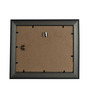 Clixicle Brown Synthetic Wood Single Photo Frame