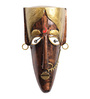 Cocovey Multicolour Metal Decorative Wall Mask