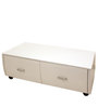 Coffee Table in White Colour by Lakkarhara