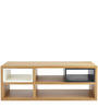 Coffee Table with Multiple Storage Units by AfyDecor