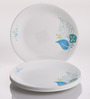 Corelle Foliage Vitrelle Glass Dinner Plates - Set of 6