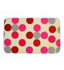Cortina Polka Dots Multicolour 100% Cotton Bath Mat