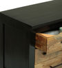 Crescent Chest Of Drawers in Two Tone Finish by The ArmChair