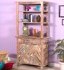 Rihanna Book Shelf in Distress Finish by Bohemiana