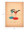 Crude Area Paper 12 x 17 Inch Occhi Differenti Print Unframed Poster
