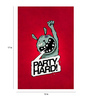 Crude Area Paper 12 x 17 Inch Party Hard Print Unframed Poster