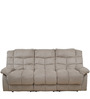 Daffodil Three Seater Recliner in Beige Colour by Royal Oak
