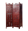 Decorhand Mango Wood Brown Carving Room Divider