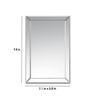 Deknudt Decora Silver Rectangular Mirror