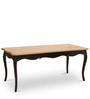 Dinan Six Seater Dining Table in Dual Tone by The ArmChair