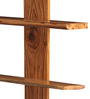 Vicente Contemporary Wall Shelf in Brown by CasaCraft