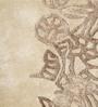 Divine Ecru Polyester 60 x 35 Inch Paradise Area Rug