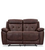 Dream Two Seater Recliner in Chocolate Brown Colour by Durian
